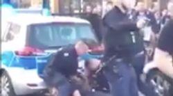Berlin: Video zeigt, wie Polizeibeamte Mann bei Festnahme