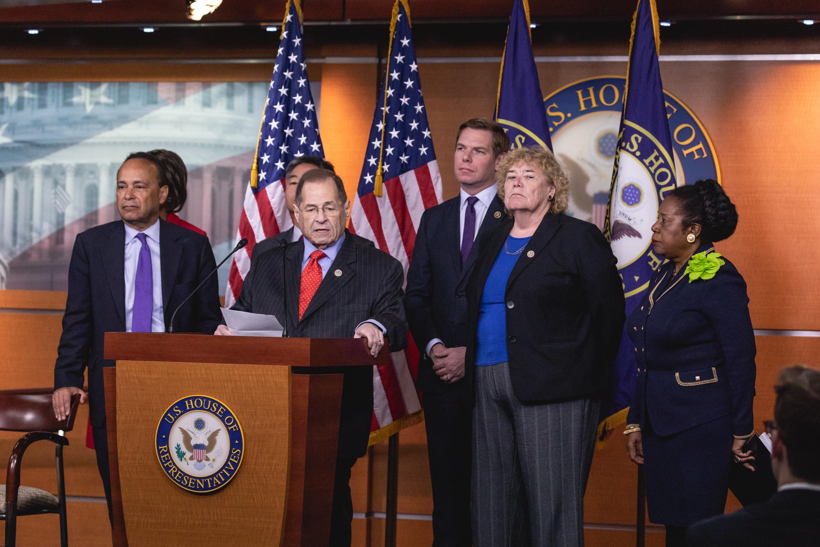 House Judiciary Committee Democrats want to investigate Supreme Court nominee Brett Kavanaugh.
