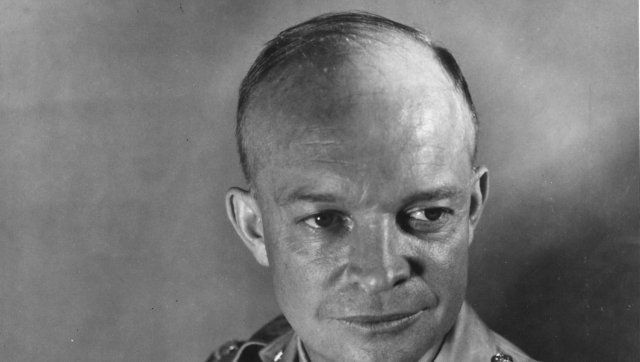 Description Dwight D. Eisenhower while a major in the US Army. |  Source http://www. eisenhower. archives. gov/Research/Audio