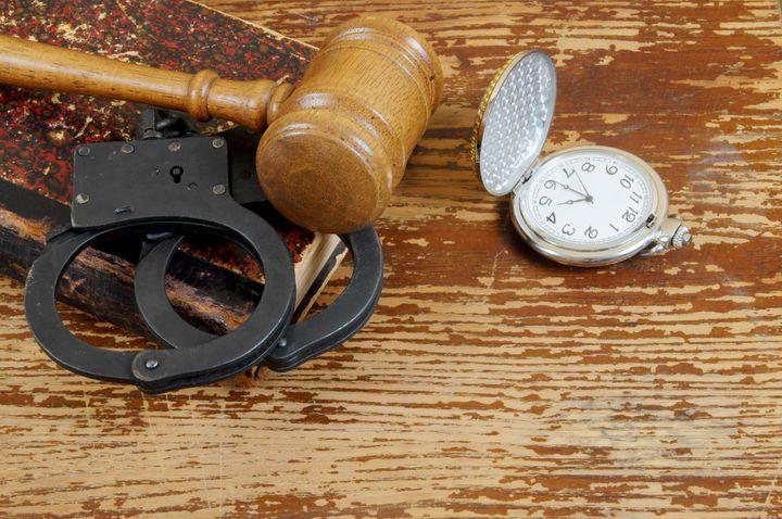 judge's gavel  handcuffs  legal ...