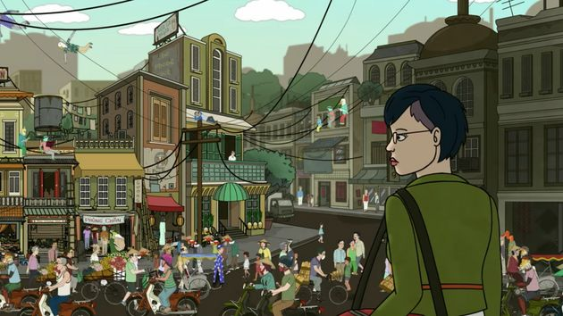 When Diane goes to Vietnam, she ends up feeling lost in a different sort of
