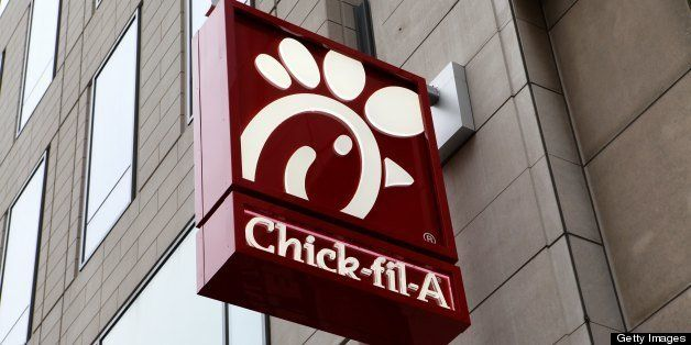 CHICAGO - JANUARY 12:  Chick-fil-A restaurant, in Chicago, Illinois on JANUARY 12, 2013  (Photo By Raymond Boyd/Michael Ochs