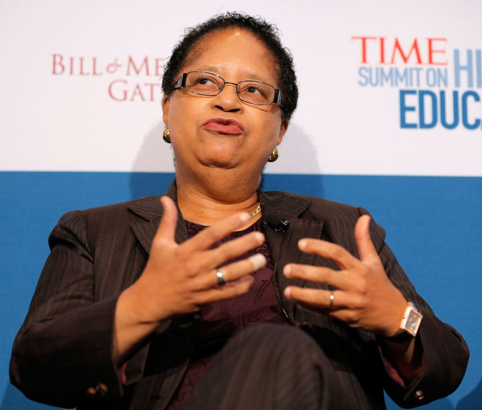NEW YORK, NY - OCTOBER 18:  President of Rensselaer Polytechnic Institute Shirley Ann Jackson participates in the 'Changing L