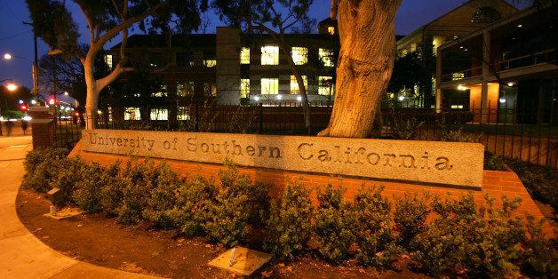 LOS ANGELES, CA - APRIL 06:  The University of Southern California (USC) campus is seen on March 6, 2007 in Los Angeles, Cali