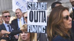 Headteachers March Over Cuts: 'Enough Is