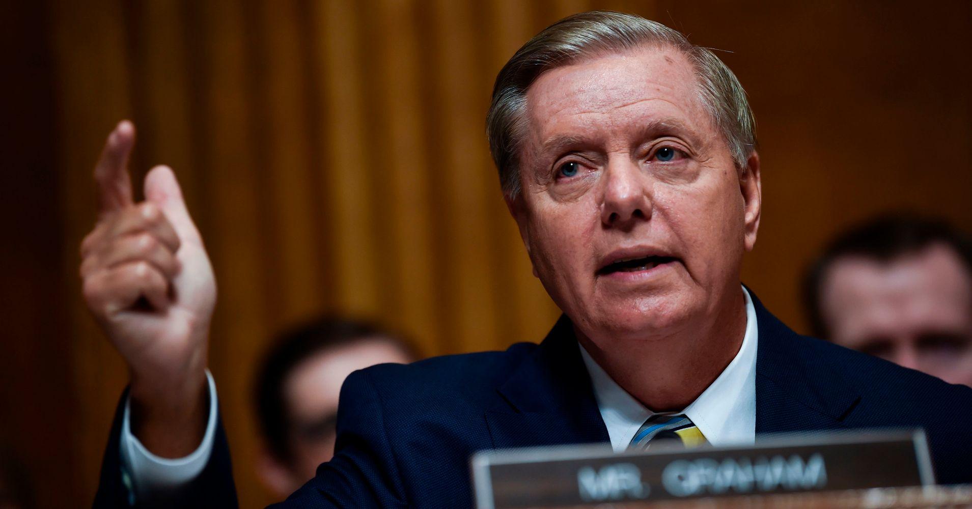 Lindsey Graham Slammed For 'Single White Man,' 'I Will Not Shut Up' Remarks
