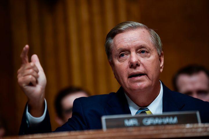"Sen. Lindsey Graham (R-S.C.) said, ""I know I'm a single white male from South Carolina, and I'm told I shou"