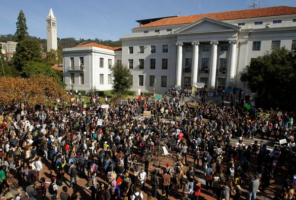 "Cal is a state school that is <a href=""http://newscenter.berkeley.edu/2013/03/04/berkeley-again-makes-elite-six-in-world-repu"