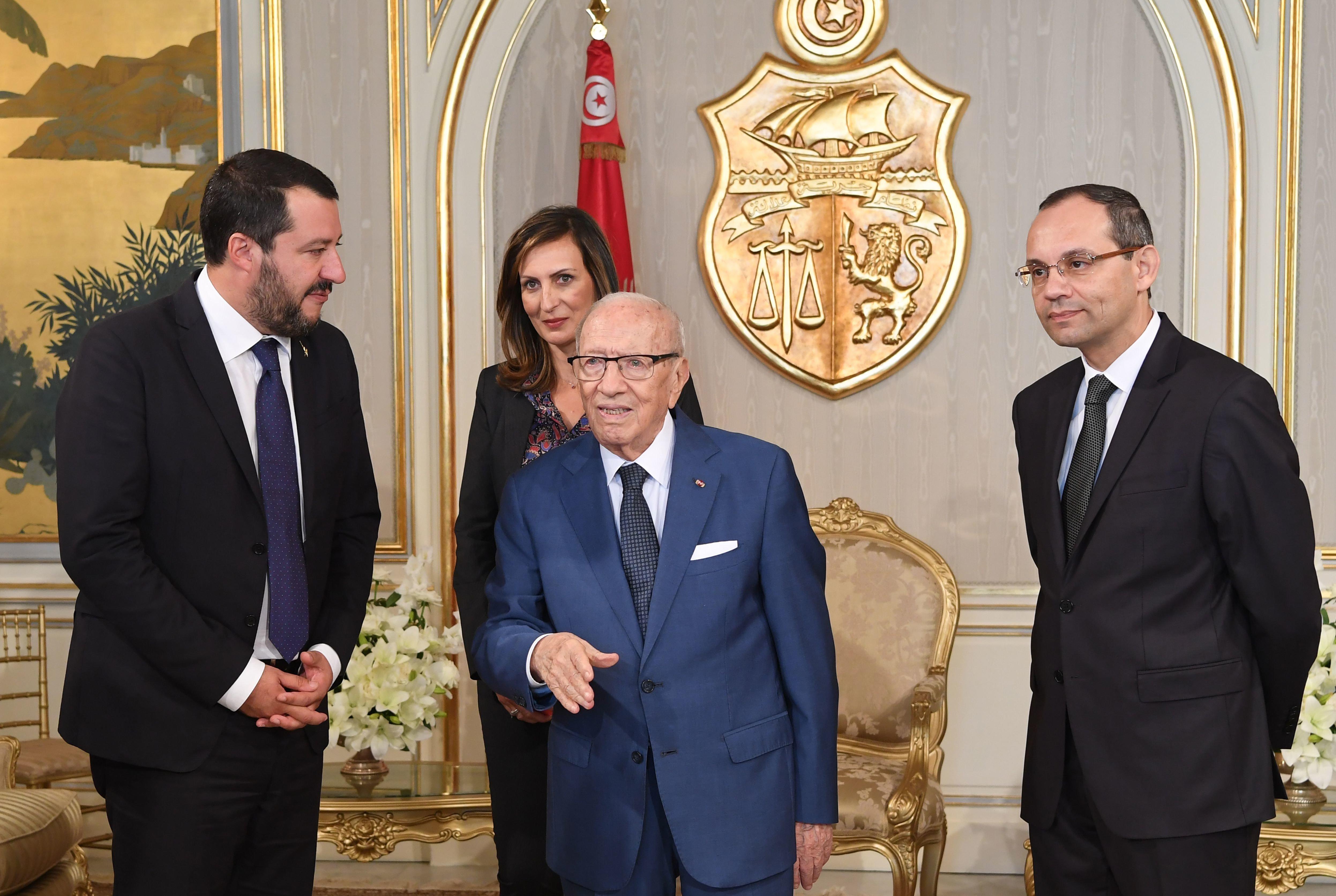 Les dessous de la visite de M. Salvini en une Tunisie en