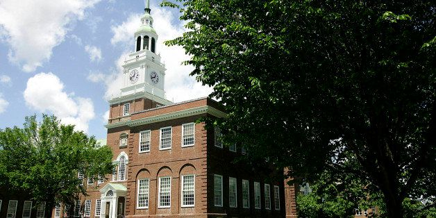 UNITED STATES - JUNE 02:  Baker Hall stands on the campus of Dartmouth College, the smallest school in the Ivy League, in Han
