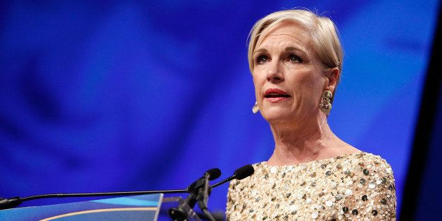 WASHINGTON, DC - MARCH 27:  Planned Parenthood Federation of America President Cecile Richards makes a few remarks at the Pla