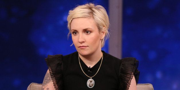 GOOD MORNING AMERICA - Lena Dunham is a guest on 'Good Morning America,' 9/30/14 airing on the ABC Television Network. (Photo