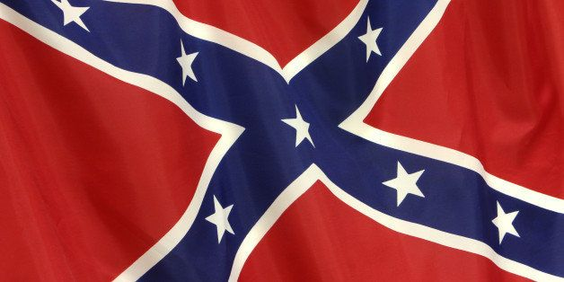 Rebel/Dixie flag, the one that started all the controversy a few years back.