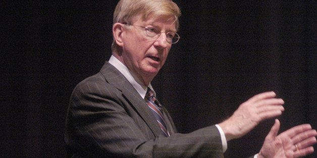 Pulitzer Prize-winning columnist, best-selling author, television commentator and Newsweek essayist George F. Will addressed