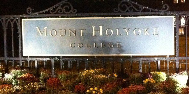 interview visit, mount holyoke college gates