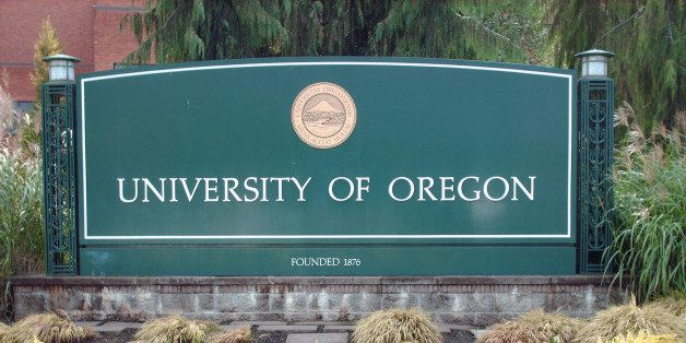 EUGENE, OR - CIRCA 2008: View of the University of Oregon Ducks campus in Eugene, Oregon. (Photo by Oregon/Collegiate Images)