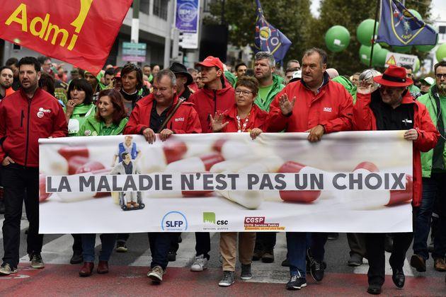 Βρυξέλλες: Επεισόδια σε διαδήλωση δημοσίων υπαλλήλων.Ένας αστυνομικός