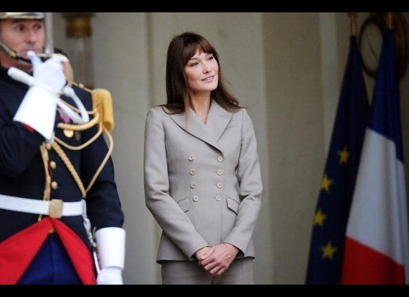 "Carla Bruni is certainly not the first beauty to <a href=""http://www.helium.com/items/1008768-biography-carla-bruni-sarkozy?p"