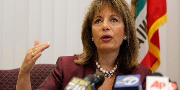 California Rep. Jackie Speier, speaks during a news conference about the National Transportation Safety Board report of the d
