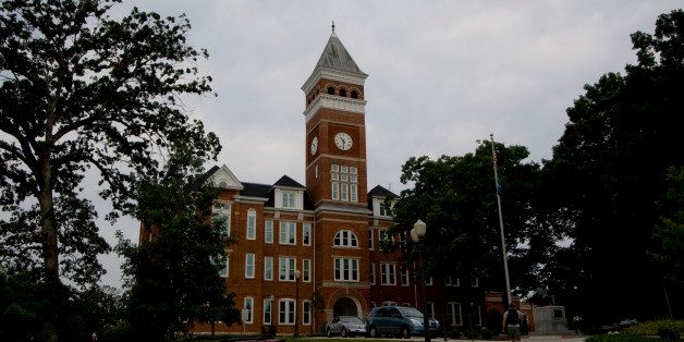 """One of the more prominent buildings at Clemson.  When you arrive at campus from the """"Main Entrance"""" this is one of"""
