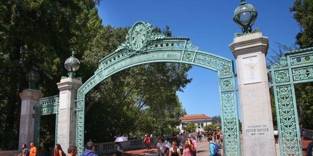 Sather Gate, at the University of California Berkely.