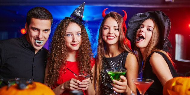 College halloween party photos photo