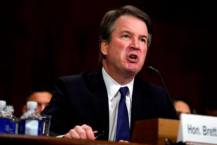 "Kavanaugh said he has ""been through hell and then some."""