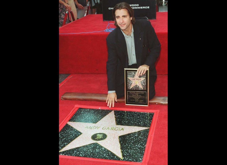Cuban born actor, Andy Garcia earned his star in The Hollywood Walk fo Fame in 1995. 