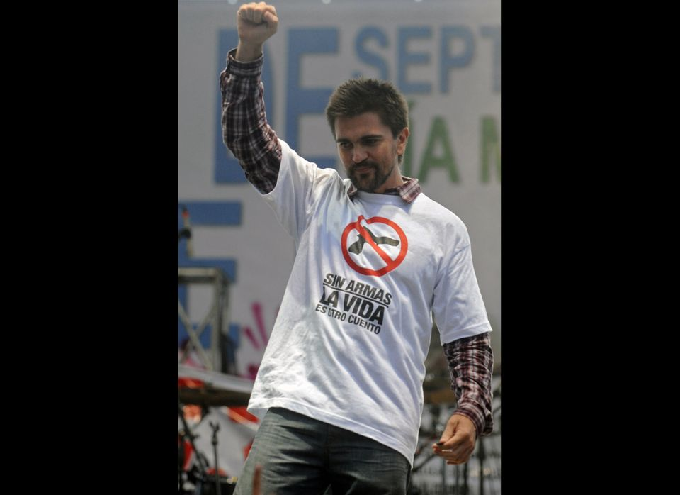 Since starting his solo career in 2000, Juanes has been active in humanitarian causes in his native Colombia. He founded the