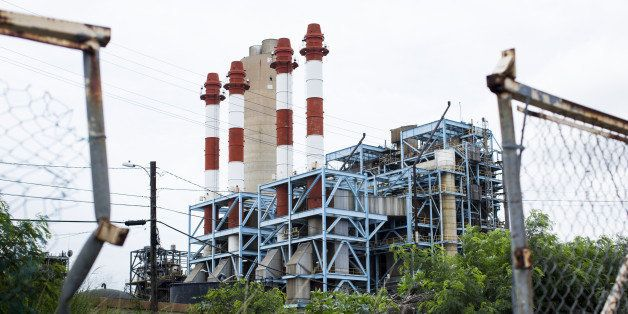 The Puerto Rico Electric Power Authority (PREPA) thermoelectric plant stands San Juan, Puerto Rico, on Saturday, April 30, 20