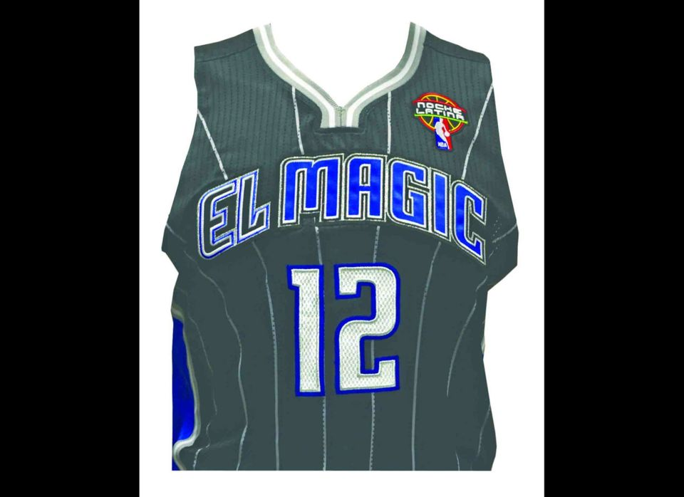 The El Magic jersey will be worn by the Orlando team for the first time on March 1.