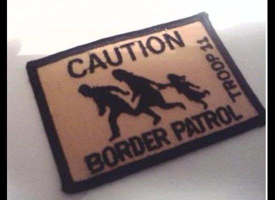 """<em><a href=""""http://latinorebels.com/2012/03/30/unauthorized-and-racist-border-patrol-boy-scout-badge-was-created-by-predomin"""