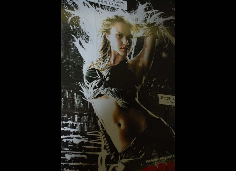 "When the Mexican-American actress starred as exotic dancer Nancy Callahan in Robert Rodriguez's crime thriller, ""Sin City"" (2"