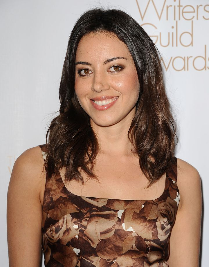 LOS ANGELES, CA - FEBRUARY 17:  Actress Aubrey Plaza attends the 2013 Writers Guild Awards at JW Marriott Los Angeles at L.A.