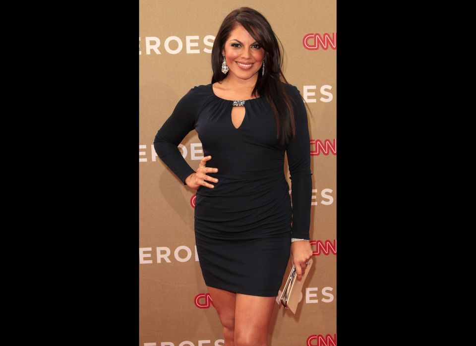 Actress Sara Ramirez attends the CNN Heroes: An All-Star Tribute at The Shrine Auditorium on December 11, 2011 in Los Angeles