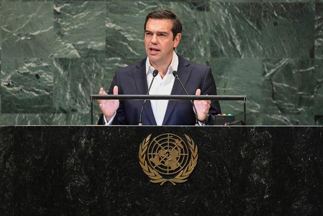Επίθεση Τσίπρα από τη ΓΣ του ΟΗΕ κατά των εθνικιστικών δυνάμεων στις οποίες η Ελλάδα παρά τις κρίσεις,...