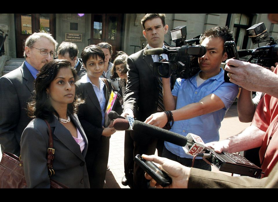 FILE - This May 11, 2012, file photo shows Nusrat Chadoury, lead attorney for the plaintiffs, National ACLU National Security