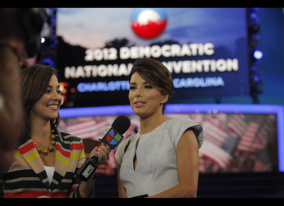 Actress Eva Longoria, who is one of the 35 national co-chairs appointed by the Obama re-election campaign, has been an avid s