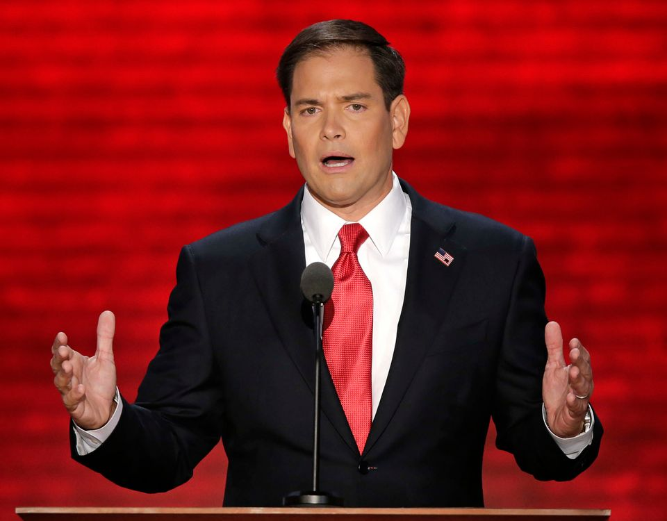 "He's been quiet since the election, but it's clear the <a href=""http://www.usatoday.com/story/news/politics/2012/11/10/rubio-"