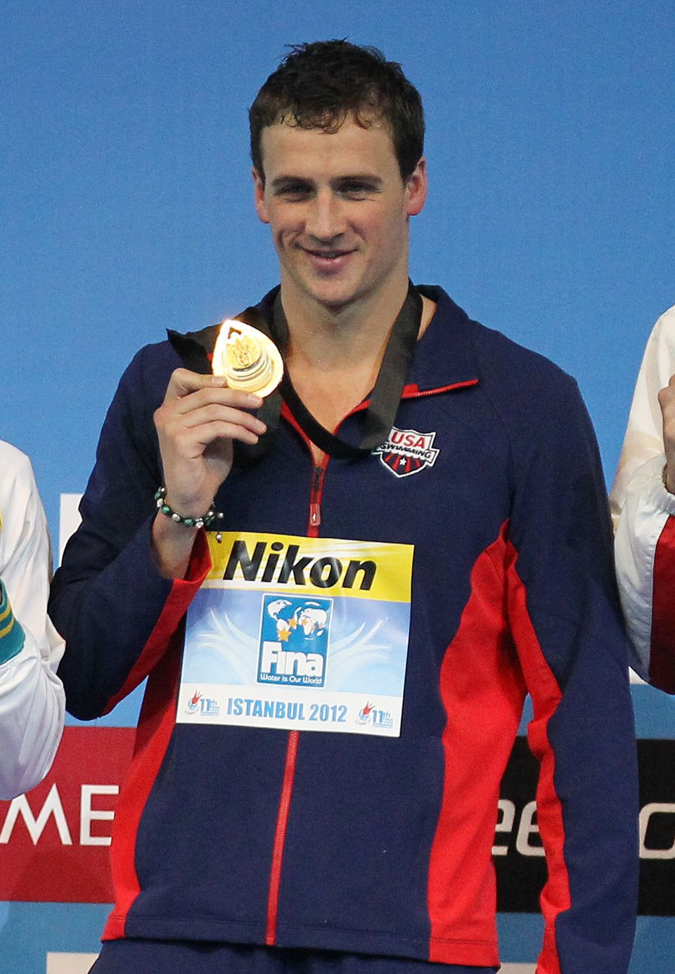 The Gold medalist of Cuban descent Ryan Lochte rose to glory this year at the London Olympics. With eleven Olympic medals, th
