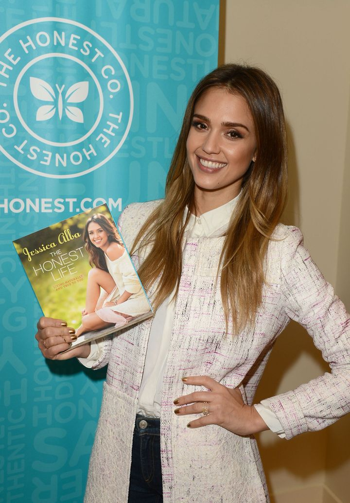 WEST HOLLYWOOD, CA - MARCH 15:  Author/actress Jessica Alba attends The Honest Company and The Moms Launch of Jessica Alba's