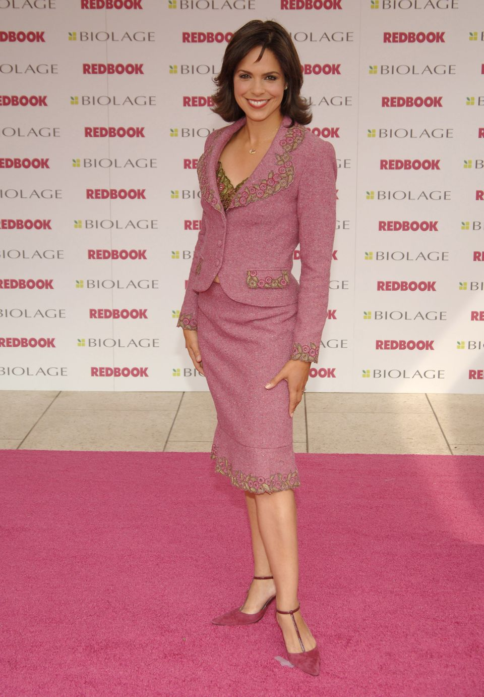 Soledad O'Brien during 2005 Redbook's Mothers and Shakers Awards at Lincoln Center in New York City, New York, United States.