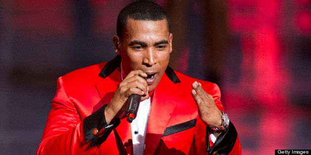 Puerto Rican Singer/actor Don Omar  performs during the XXIX edition of the Soberano Awards in Santo Domingo, Dominican Repub