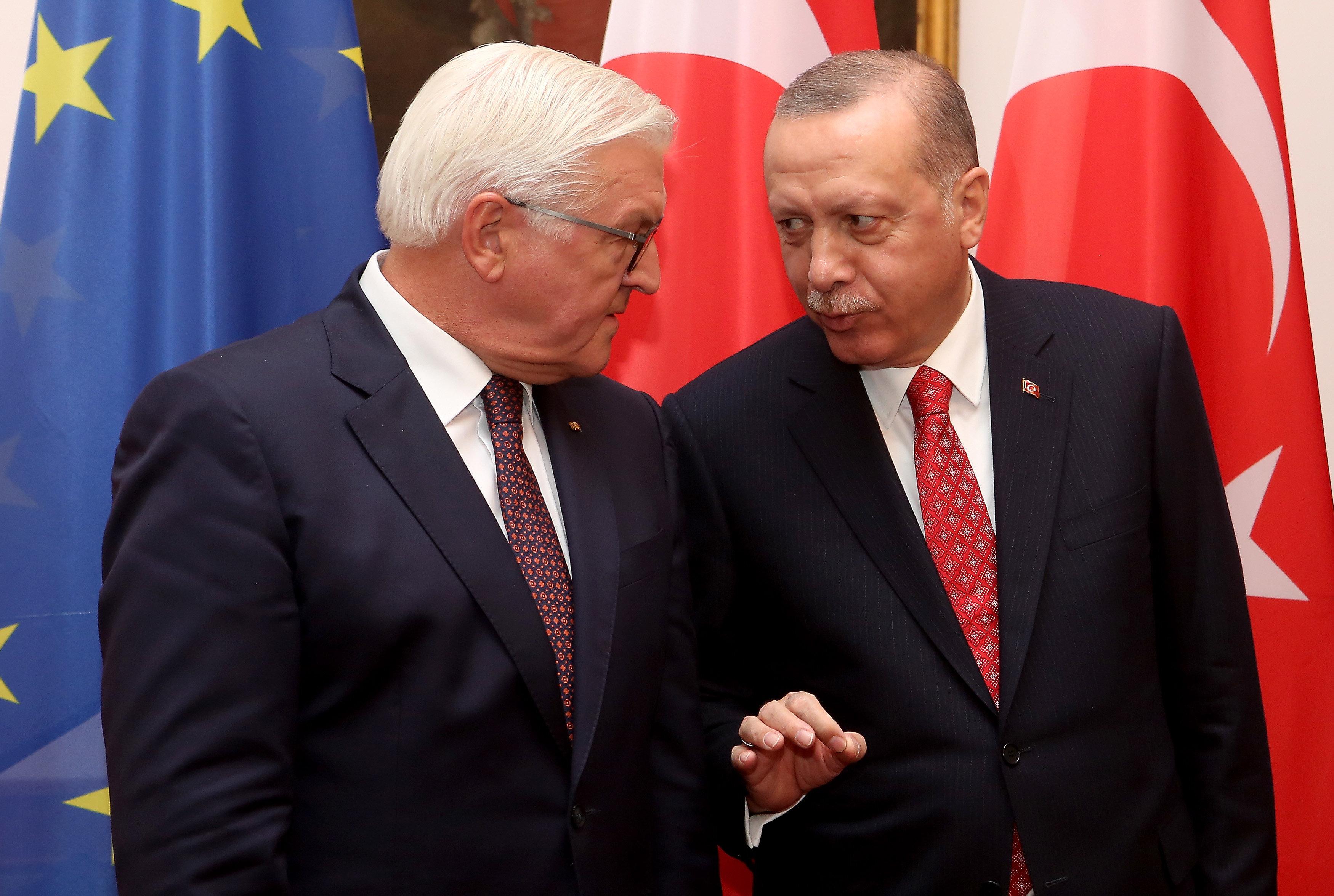 Erdogan keilt beim Staatsbankett gegen Bundespräsident Steinmeier