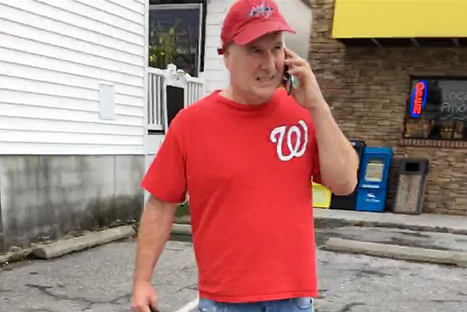 """Mark Judge in Delaware on Sept. 24. His lawyer said that """"he will answer any and all questions posed to him"""" by l"""
