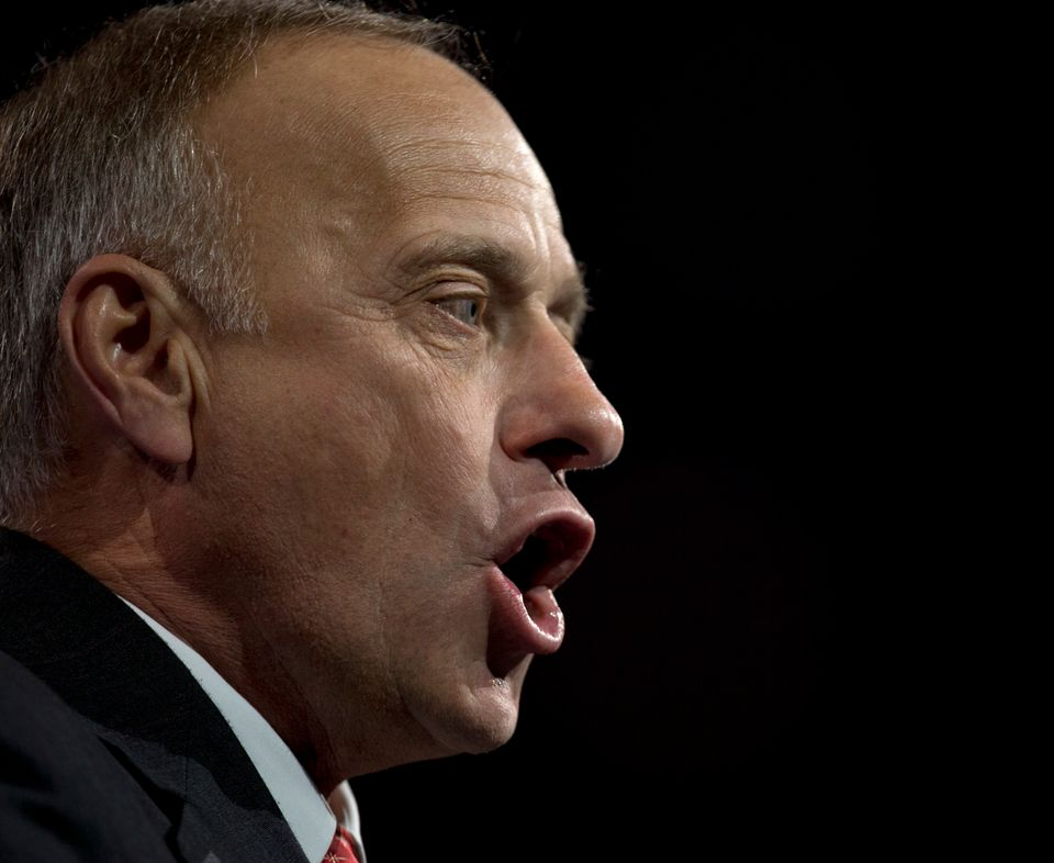Iowa Republican Steve King unleashes a brazen, Mufasa-like roar at the 40th annual Conservative Political Action Conference i