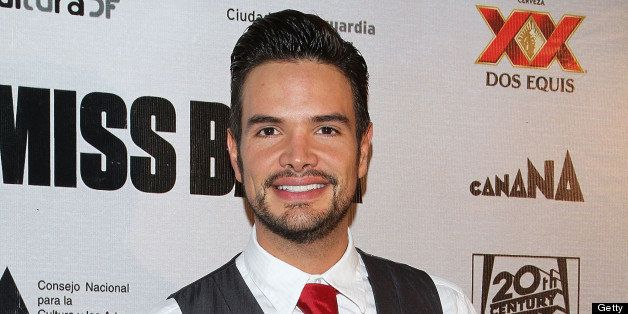 MEXICO CITY, MEXICO - SEPTEMBER 05:  Actor Andres Zuno attends the 'Miss Bala' Mexico City premiere at Teatro de La Ciudad on