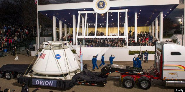 WASHINGTON, DC - JANUARY 21:  In this handout provided by the National Aeronautic and Space Administration (NASA), the Orion