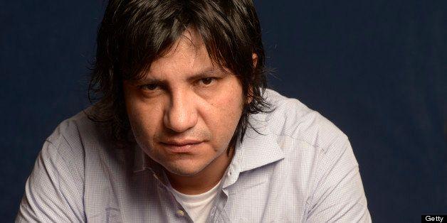PARIS, FRANCE - SEPTEMBER 19: Chilean writer Alejandro Zambra poses during portrait session held on September 19, 2012 in Par