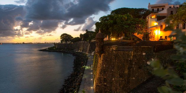 OLD SAN JUAN, PR - DECEMBER 4:
